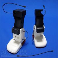 週刊ロビ(Robi)ブログ第44号、左右の股関節フレーム取り付けと、右股関節の組み立てをする