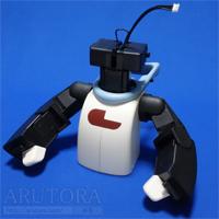 週刊ロビ(Robi)ブログ第60号、首サーボにIDを書き込み2つのサーボを上半身へ取り付ける