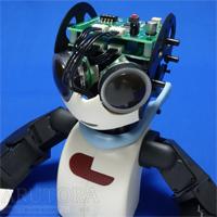 週刊ロビ(Robi)ブログ第68号、リモコンボードに配線して頭部に取り付ける