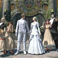 【新生FF14】エターナルバンドのドレスが公開!結婚衣装に興味津々だが相手探しが先な件
