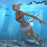 【FF14】泳ぐ、潜る!水中アクションが実装。ジャンプすらできなかった根性版からは想像できない進化