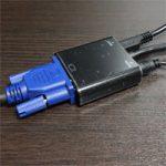 HDMIをVGA(D-sub15)に変換する方法、変換アダプタで音声出力も。古いプロジェクターなどで活躍