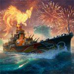 【WoWS】Southern Dragonなる妙高の色違いと、酉年記念旗がもらえるイベントが2月20日まで