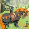 【ゼルダの伝説ブレスオブザワイルド】巨大馬の場所と捕獲方法。レアな固有の種類でとても大きい!