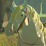 【ゼルダの伝説ブレスオブザワイルド】白馬の出現場所と王家のくら・手綱の入手方法。ゼルダの馬の子孫!