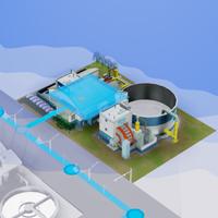 シムシティの水不足解消方法。下水処理施設で無限の水を作り出そう