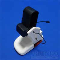 週刊ロビ(Robi)ブログ第30号、サーボモーターを取り付けて右ひざ関節を組み立てる