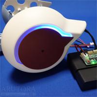 週刊ロビクルをつくるブログ第20号、左サイドカウルと後輪左LEDカバー・パネルを取り付ける