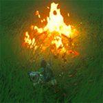 【ゼルダの伝説ブレスオブザワイルド】火の起こし方。チュチュゼリーも火打石代わりの使い道がある