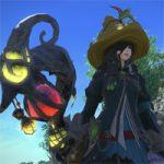 【FF14】黒魔道士のAF3。レベル70ジョブ専用装備の外見、全体的に呪術っぽさが増してカラフルになった