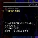 【DQ11】しあわせのベスト・なりきんベストの受け取り方。PSストアからコード入力後ゲーム内で入手可能