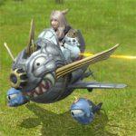 【FF14】シグマ零式4層マウント「エアフォース」は騎乗BGMで妖星乱舞が流れる。乗り方はウィスパー号