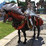 【FF14】絶地の入手方法。アメノミハシラ4周で馬マウント!騎乗BGMはクガネ城ID、飛行も可能!